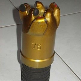 High performance Reinforced 76 mm PDC (Polycrystalline diamond compact) Diamond Core Drill Bits For Mining Exploration